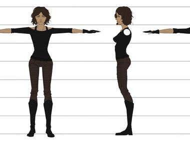 Character art for Mystic Rising