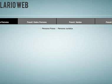 Planilla WEB