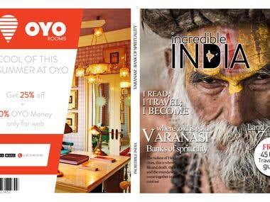 magazine cover and logo re-design