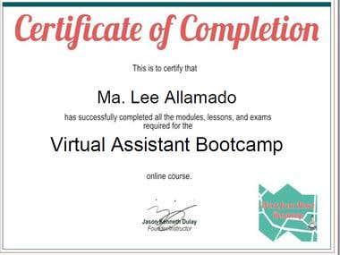 VA Certificate