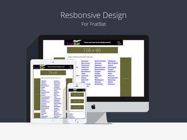 FratBat Website