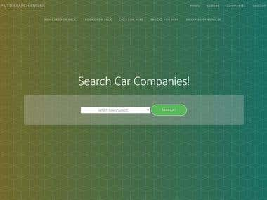 Cars and autos Search engine