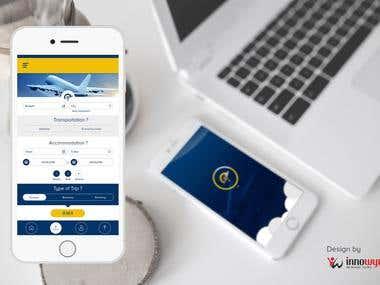 Travel Portal Mobile UI/Ux