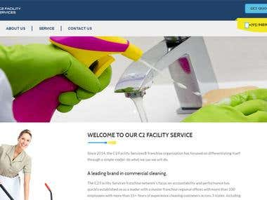 Static Cleaning web page