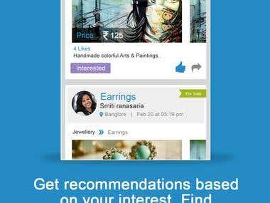 Social Media App UI/Ux