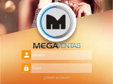 Megaventas Android App