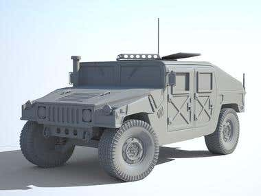 Hummer H1 WIP