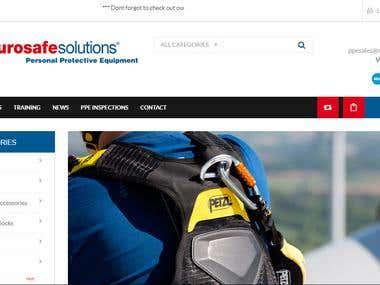 Eurosafe Solutions Website Development