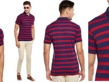 Men apparel editing for a leading fashion e commerce company
