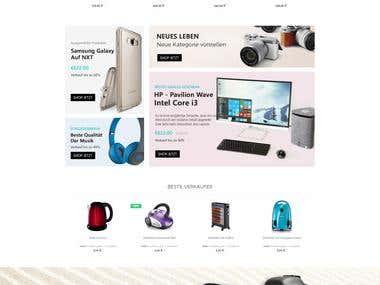 Shopware EletroTheme
