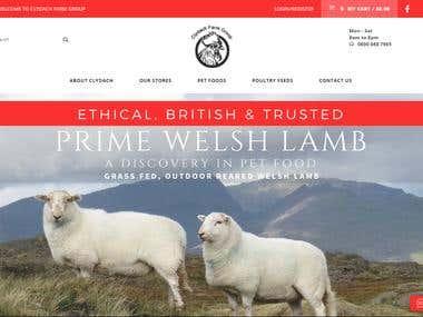 Clydach Farm Group Website Development