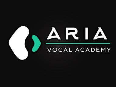 Logo Design for Aria Vocal Academy