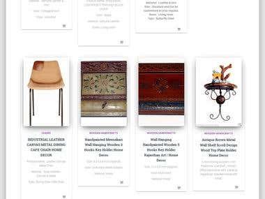 Morya Online : A Handy craft Website