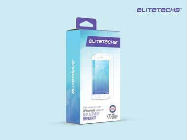 Mobile Phone - Screen Repair Kit - Packaging Design