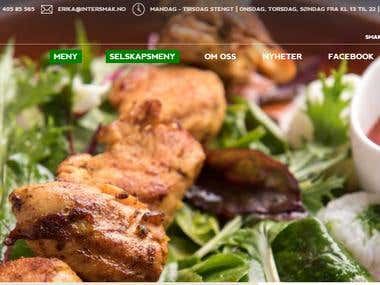 Intersmak (restaurant website)