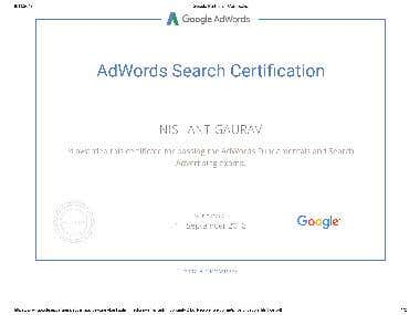Ad-words Certification ...