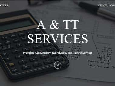 A&TT Services Limited Website
