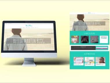 Diseño Blog