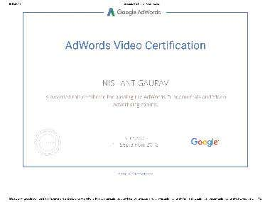 Certify By Google for Video Marketing .