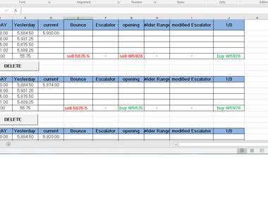 Excel Macros/ VBA