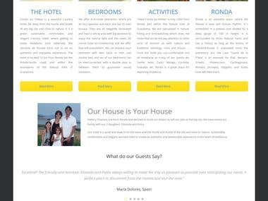 Hotel Website with online Booking System