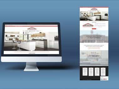 Diseño web empresa construcción