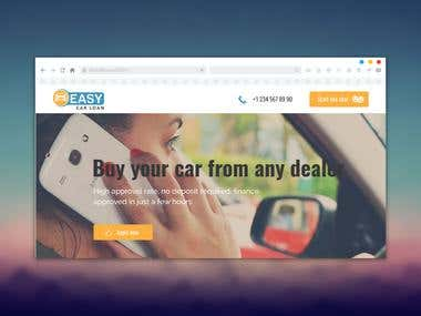 Website for sale of cars