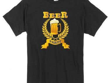 T-shirt desgining
