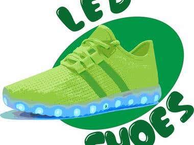 Led Shoes Bags