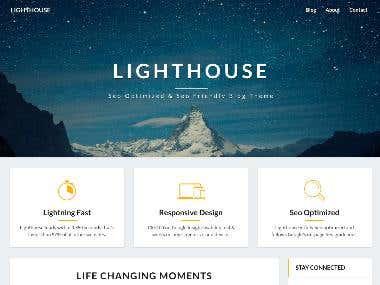 Responsive Web Developing Website