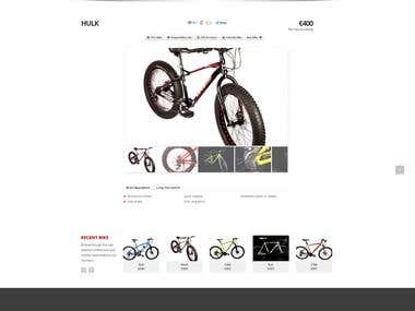 Website Bike