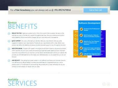 Our Company Website Design
