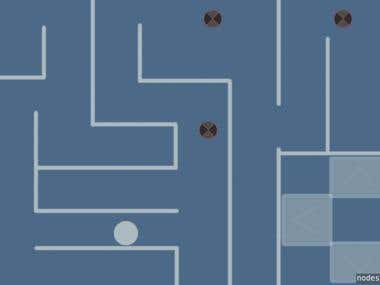 iOS Application Game - Maze Run