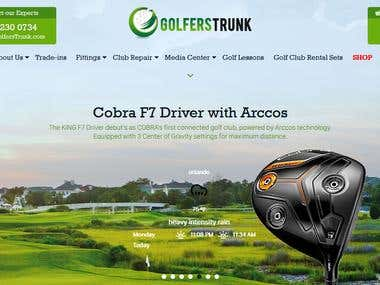 Golf Accessories Selling And Rental