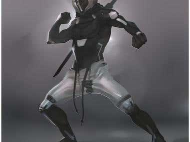 Ninja Apocalypse Character