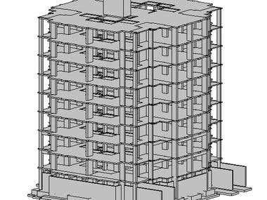 REVIT 3D Model