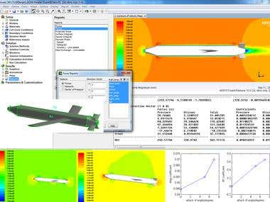 CFD for Missile aerodynamics