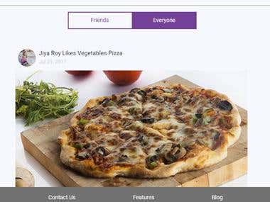 Wajabaty (Restaurant Website for online food ordering)