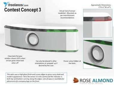 Freelancer Contest work- Motion sensing device