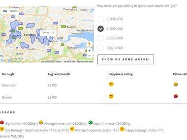 Where can you rent in London?