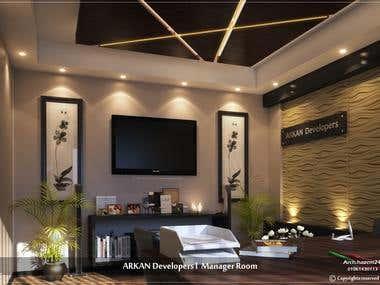 ARKAN Developers - Manager Room