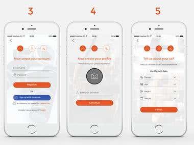 Glezoo app(FITNESS APP)