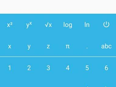 Android Flexible Calculator