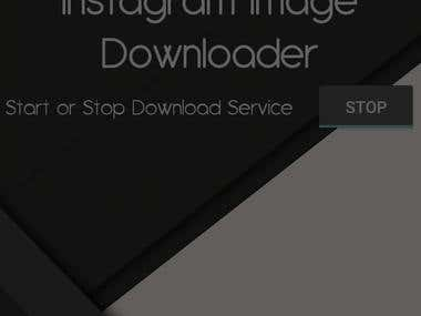 Image downloader for Instagram