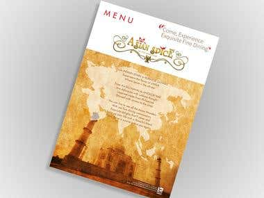 MENU DESIGN ( HIT the button to see all)