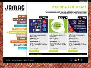 Jamac Website Design in HTML5 and Responsive Website