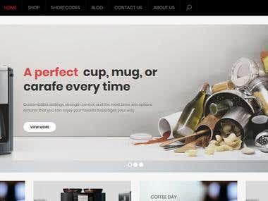 E-Bellfyd WordPress Website