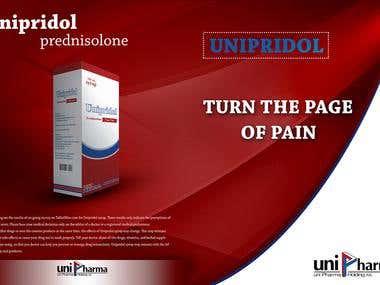 two-fold medicine brochure design
