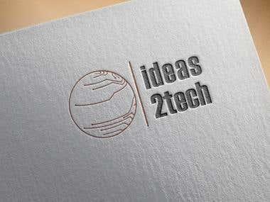 ideas2tech logo designs