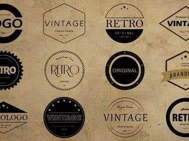 Retro Logos Design